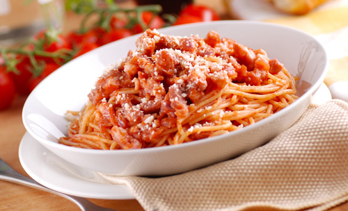 Bucatini all' Amatriciana Photo