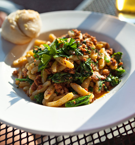 Cavatelli with Sausage and Broccoli Rabe Photo
