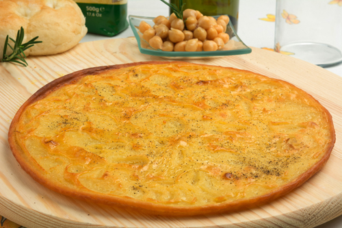 Cecina or Farinata (Chickpea Flatbread) Photo