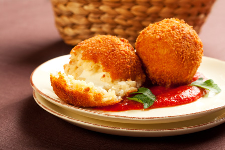 Cheese Arancini Photo