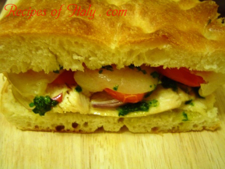 Chicken Fontina Sandwich Photo