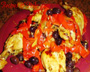 Chicken with Peppers and Olives Photo