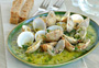 Clams in White Wine Sauce Photo