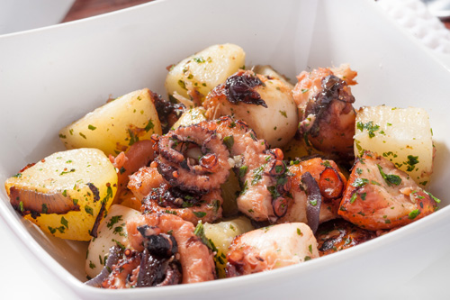 Octopus (Polpo) and Potato Salad Photo