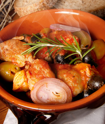 Pollo alla Cacciatora - Hunter's Style Chicken Photo
