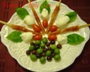 Prosciutto-Wrapped Bread Sticks Antipasto Photo