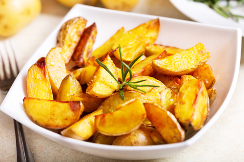 Roasted Potatoes Photo
