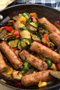 Sausage with Vegetables Photo