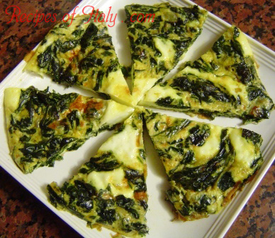 Spinach Frittata Photo