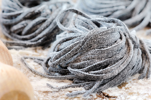 Squid Ink Pasta Photo