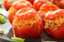 Stuffed Tomatoes with Rice Photo